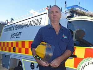 Heroic firefighter braves danger to keep region safe