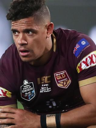 Dane Gagai's face says it all for Queensland. (Matt King/Getty Images)