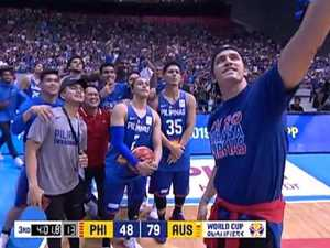 Basket-brawl: Big problem with tasteless selfie