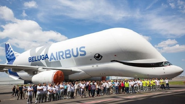 The new paint job has impressed people. Picture: J.V. Reymondon/Airbus