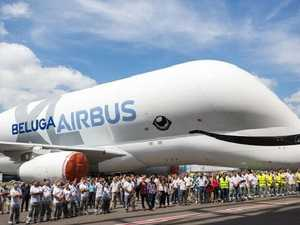New look for world's weirdest plane