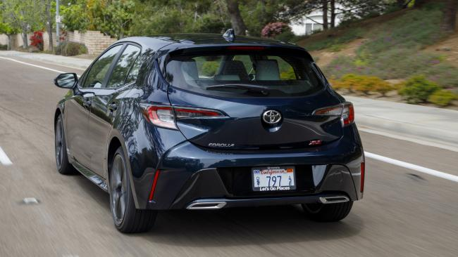 The new Toyota Corolla Hybrid launches in Australia from August. (Photo: Supplied).