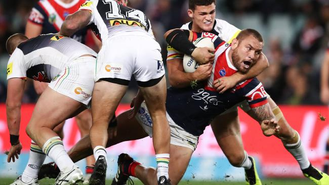 The Roosters will have to do it the hard way (AAP Image/Brendon Thorne)