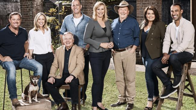 Seven's Better Homes And Garden cast (l-r): Jason Hodges, Tara Dennis, Graham Ross, Ed Halmagyi, Johanna Griggs, Dr Harry Cooper, Karen Martini and Adam Dovile.