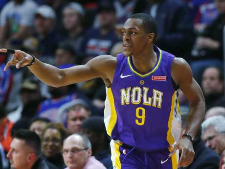 Fiesty guard Rajon Rondo is heading to the LA Lakers