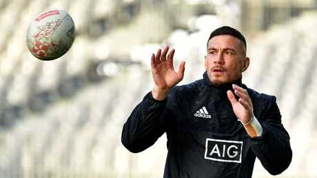 Sonny Bill Williams has been named in the All Blacks squad.