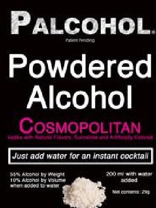 Palcohol Label — Powdered Alcohol