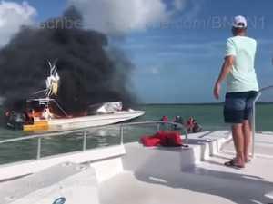 Bahamas boat fire