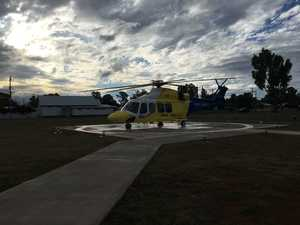 Woman injured in horse fall airlifted to Toowoomba Hospital