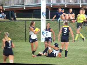 AFL: McFarlane's high flying mark