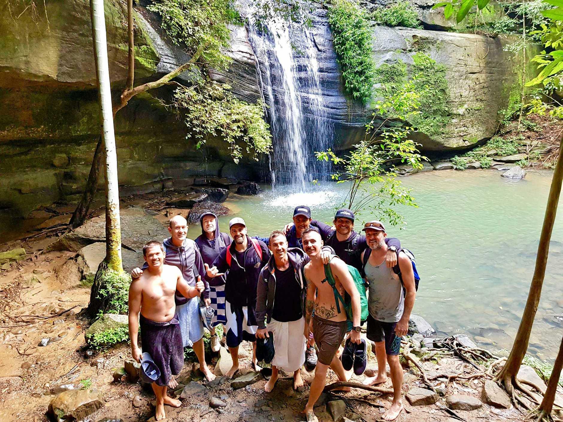 BlokesVenture in a three-day trip into the Sunshine Coast wilderness.