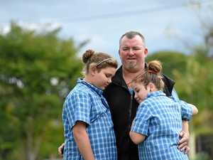 'Please give me a go': Dad just wants a home for his girls