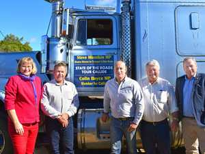 MPs tour region's roads