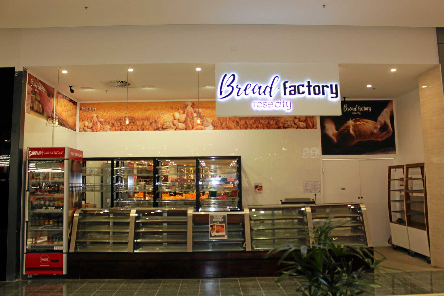 The future is uncertain for the Bread Factory bakery in Rose City Shoppingworld, which opened three months ago.