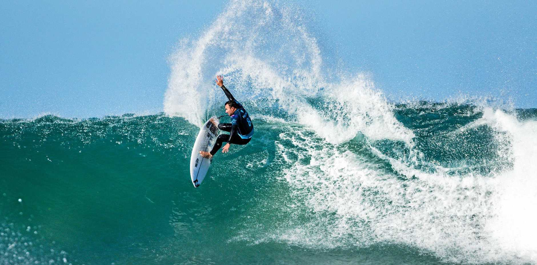 Australia's Joel Parkinson is through to round four at Jeffreys Bay. Picture: Kelly Cestari/World Surf League