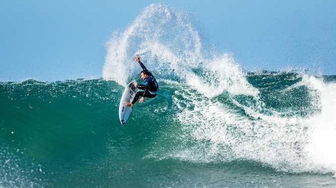 Australia's Joel Parkinson is through to round four at Jeffreys Bay. Picture: Kelly Cestari/World Surf League