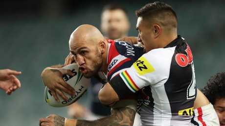 Ferguson has been with the Roosters since 2015. Picture: Brett Costello.