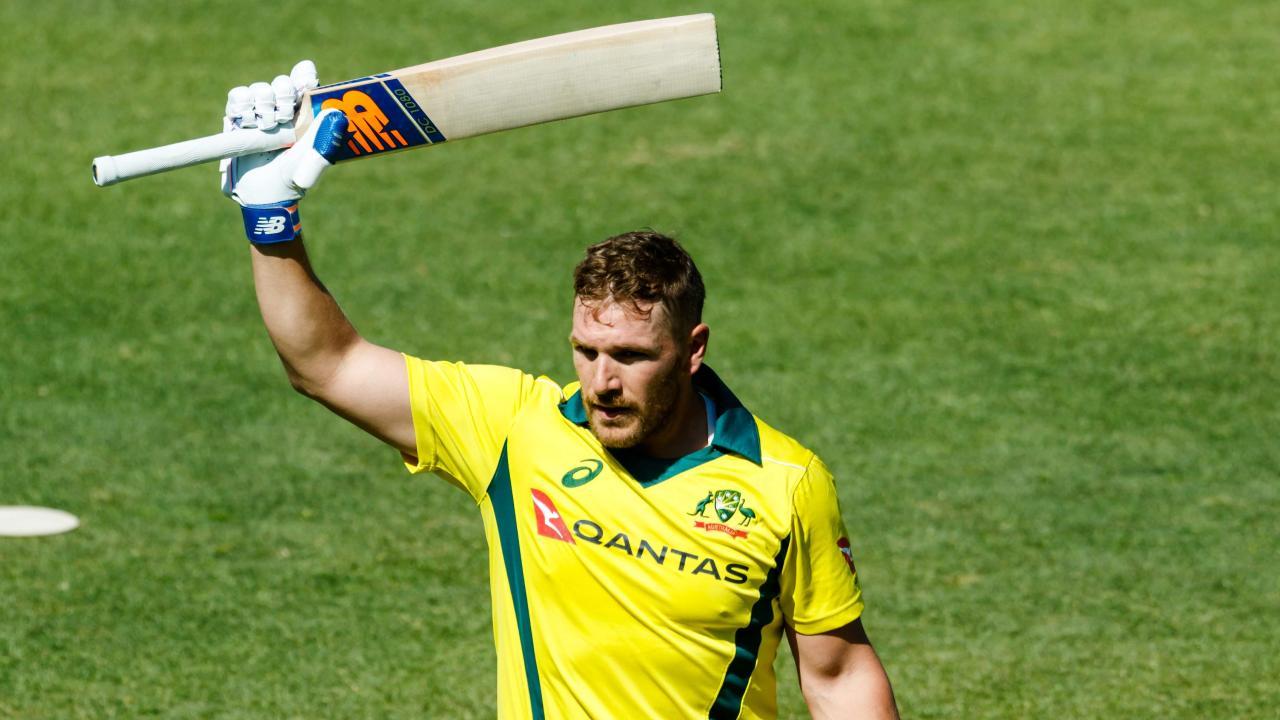 Australia's captain Aaron Finch blasted 172.