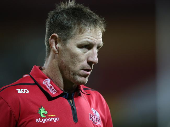 Brad Thorn and the Reds are desperate to finish the season on high. Picture: AAP