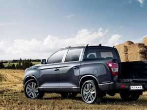 Ssangyong returns to Australia with new dual-cab ute