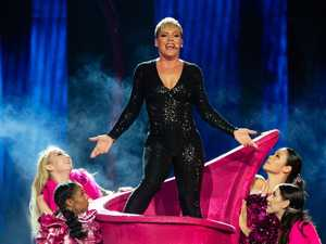 Pink rocks Perth in first Aussie tour in five years
