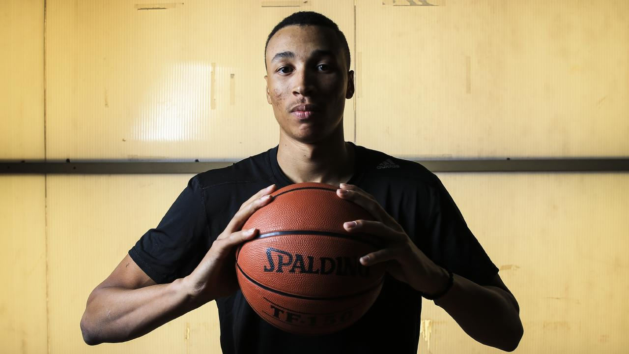 Dante Exum in Crows Nest. Picture: Dylan Robinson
