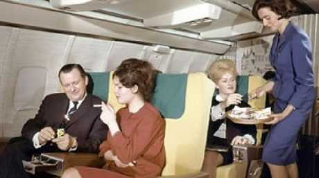 Back in the day, business class was still better.