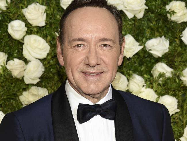 Spacey's career is in tatters since the first allegations against him were made public last October. Picture: AP