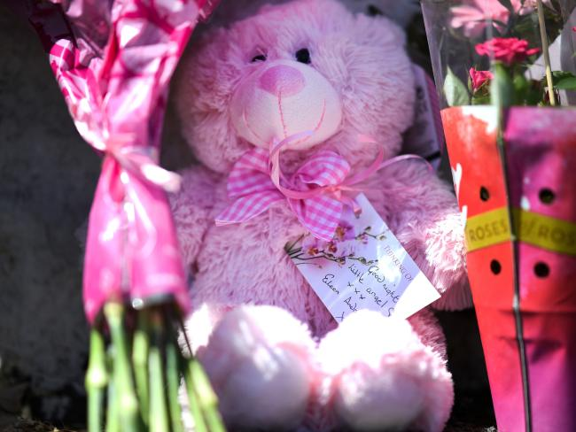 Tributes left for Alesha MacPhail.