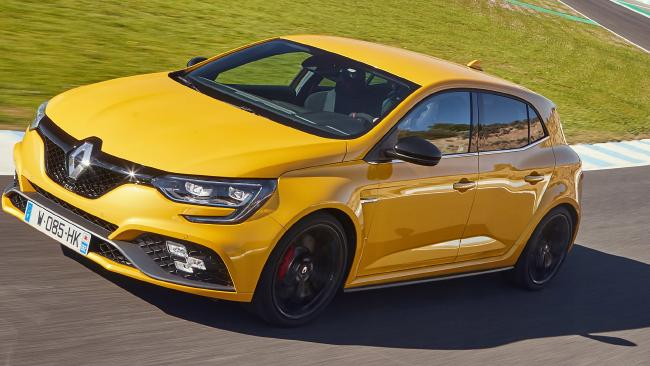 In race mode, the Renault Megane RS Cup records lap times, among other data