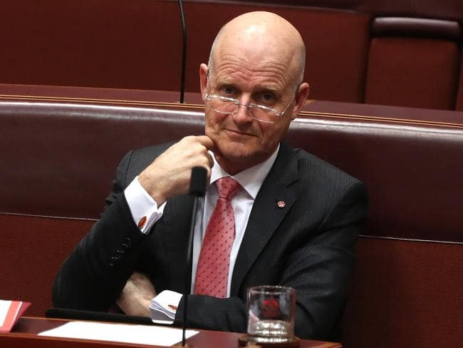 Senator David Leyonhjelm doesn't have too many supporters in mainstream media at the moment, and he just lost another one. Picture: Kym Smith