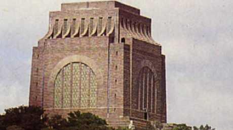 The Voortrekker Museum Boer War monument in Pretoria.