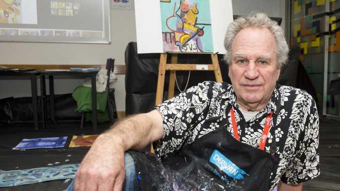Peter Griffen, abstract teacher at McGregor Winter School.