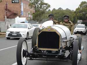 PHOTOS: Incredible 1912 car marks record-breaking drive