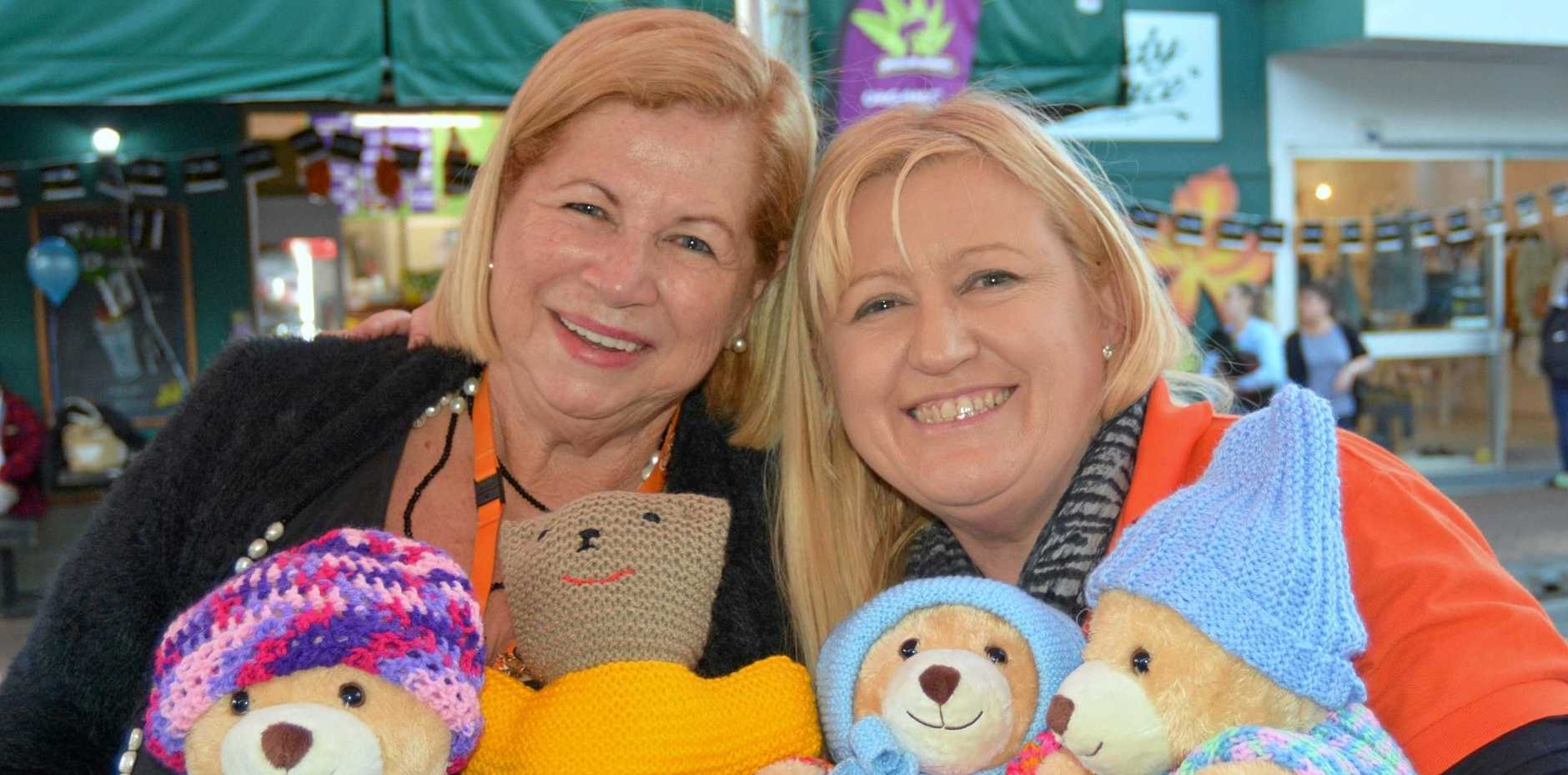 ENTERTAINMENT PLUS: Events co-ordinator Carol Podesta (left) and fundraising manager Vicki James spread the word about the work of the Gold Coast Hospital Foundation at  Winter Solstice Festival.