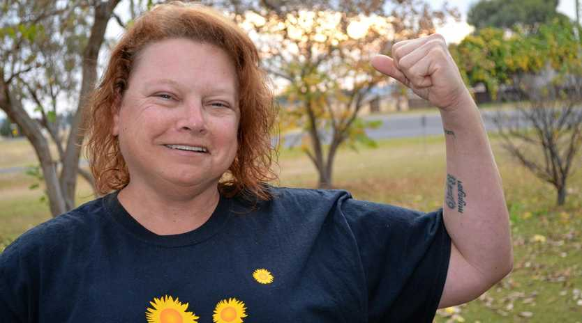 STRONG WILL: Christine Butler has a new focus on raising money for a scleroderma specialist clinic.