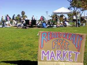Nothing in life's free, except the really really free market