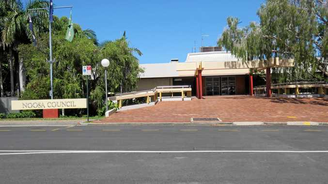 Noosa Council chambers in Pelican St Tewantin