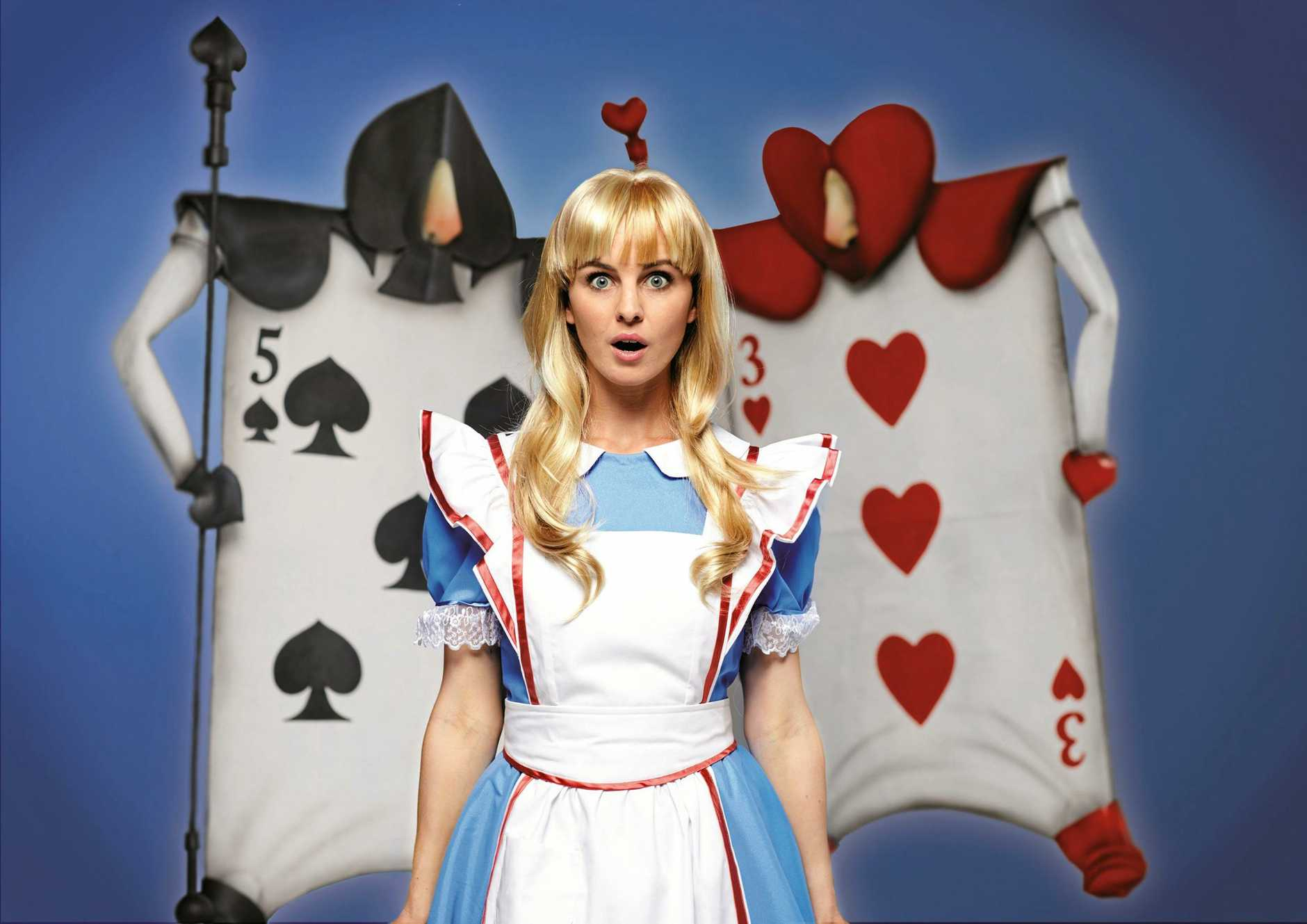 Georgina Walker stars as Alice in the  timeless classic Alice in Wonderland.