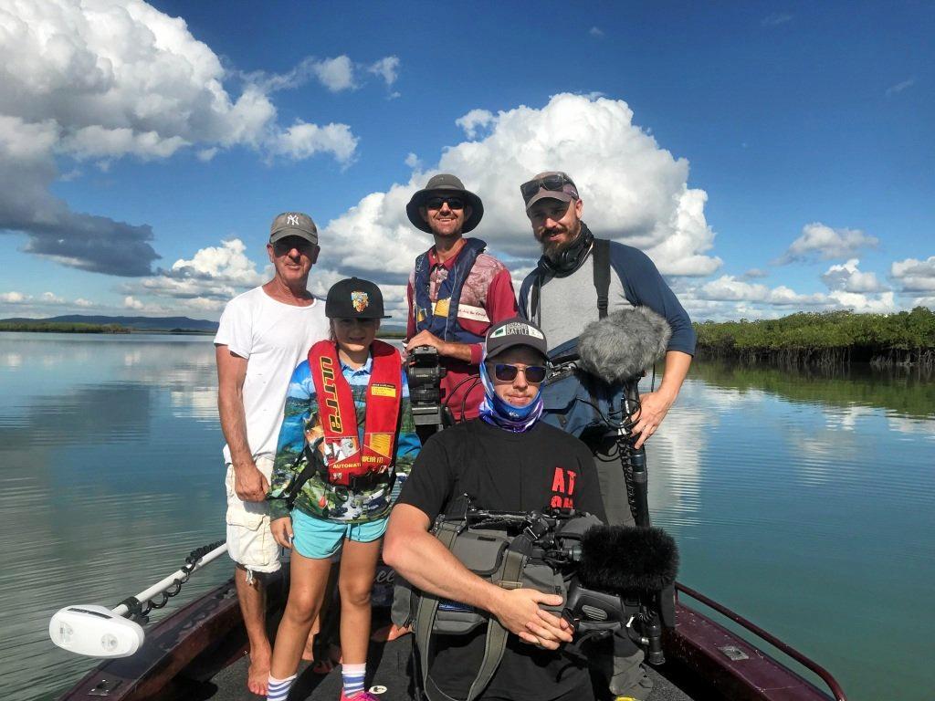 HOOKED:  The Fishing Australia Team