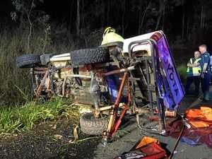 Paramedics 'berated' by teens involved in serious car crash