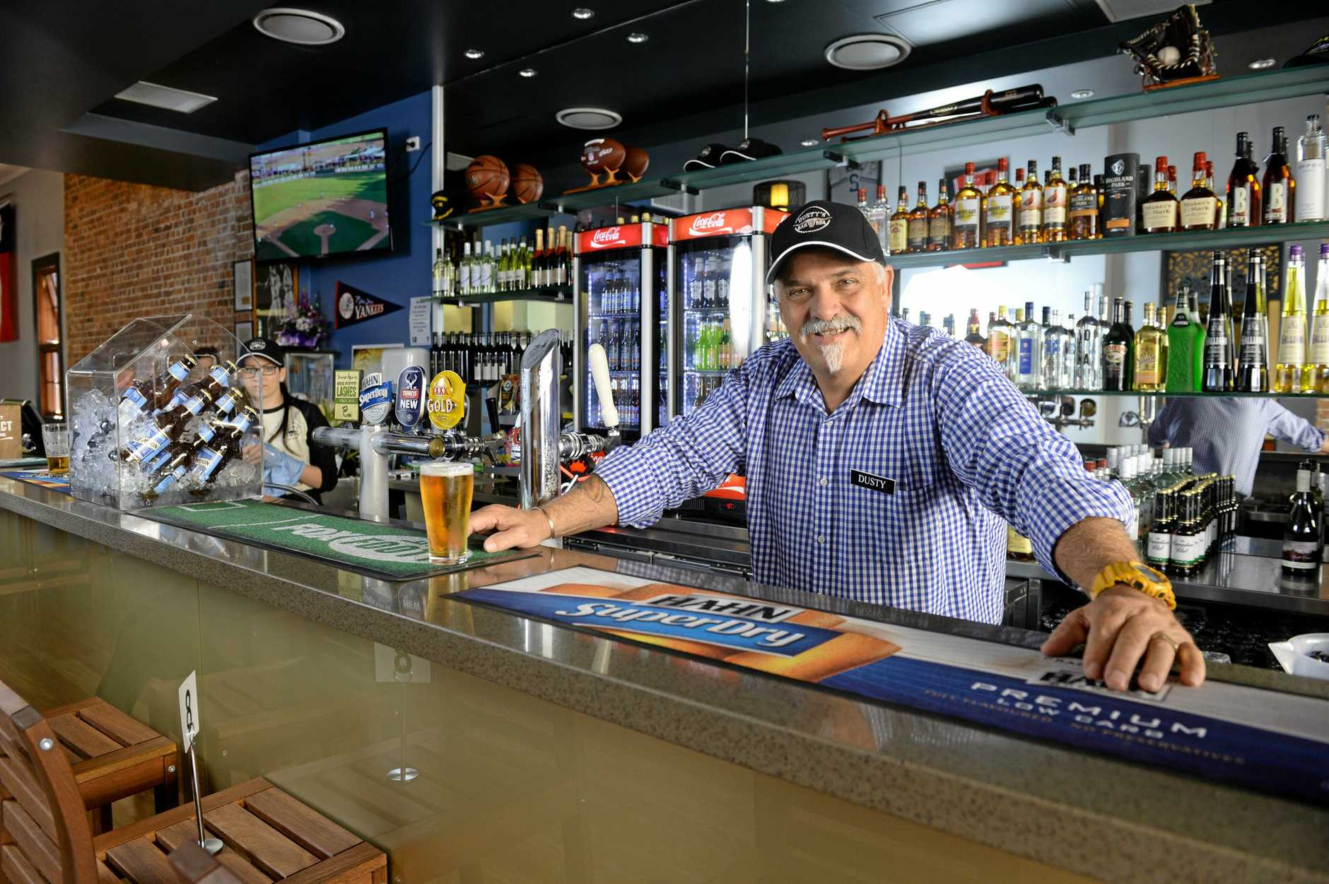 Dusty's Bar and BBQ owner Mark Dale. Photo: Rob Williams / The Queensland Times