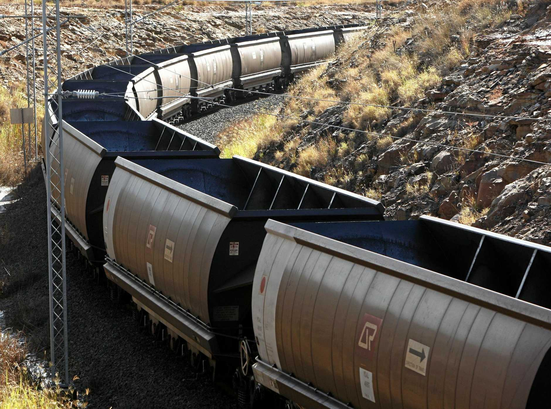 TRAIN DELAYS: Strike action will impede the transport of CQ coal.