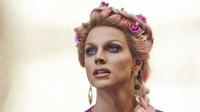 Shane Jenek, better known as Courtney Act, is an Australian drag queen, pop singer, entertainer and reality television personality.