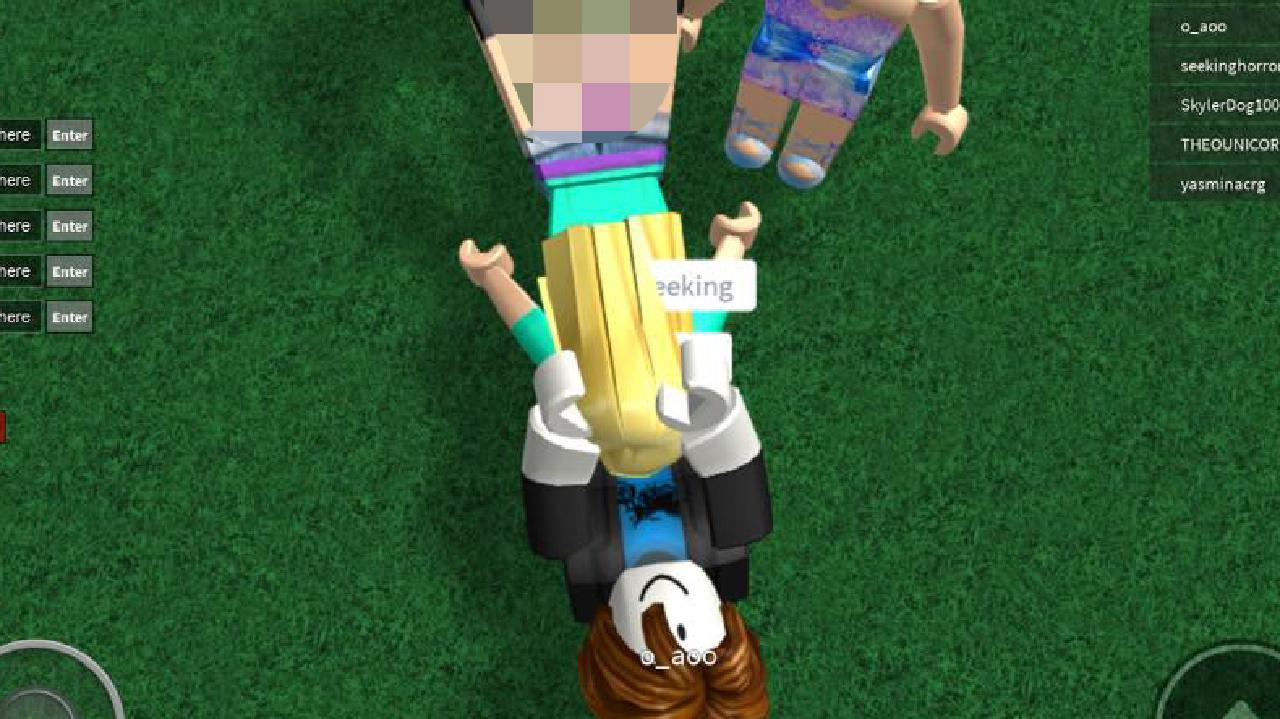 Roblox Character Girl Big Legs Girl Gang Raped In Kid S Game Observer