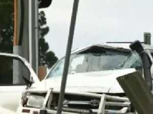 Coast man charged over crash, shooting