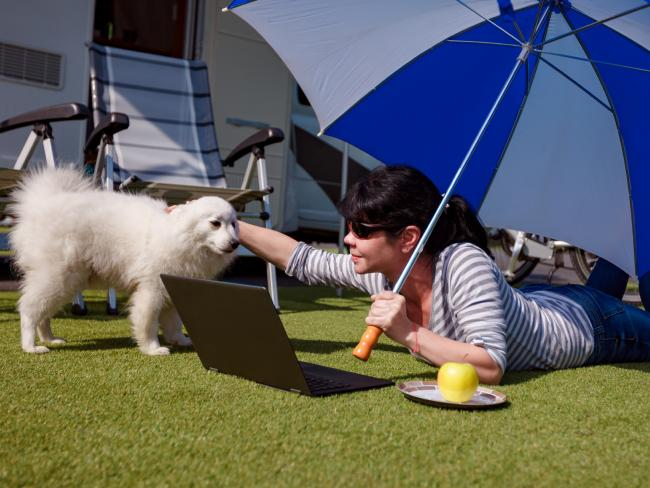 "Fluffy pets and weekends away are not what the ATO means by ""work expense"". Picture: iStock"