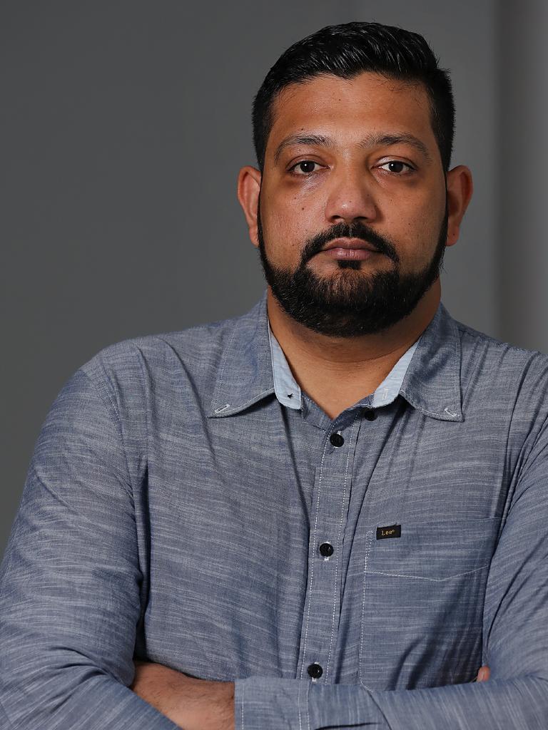 Islamic Council Queensland spokesman Ali Kadri. Picture: Jack Tran