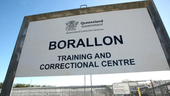 Borallon Correctional Centre in Brisbane. (Pic: Jono Searle/AAP)