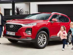 Switched-on Santa Fe SUV is the peacekeeper on road trips